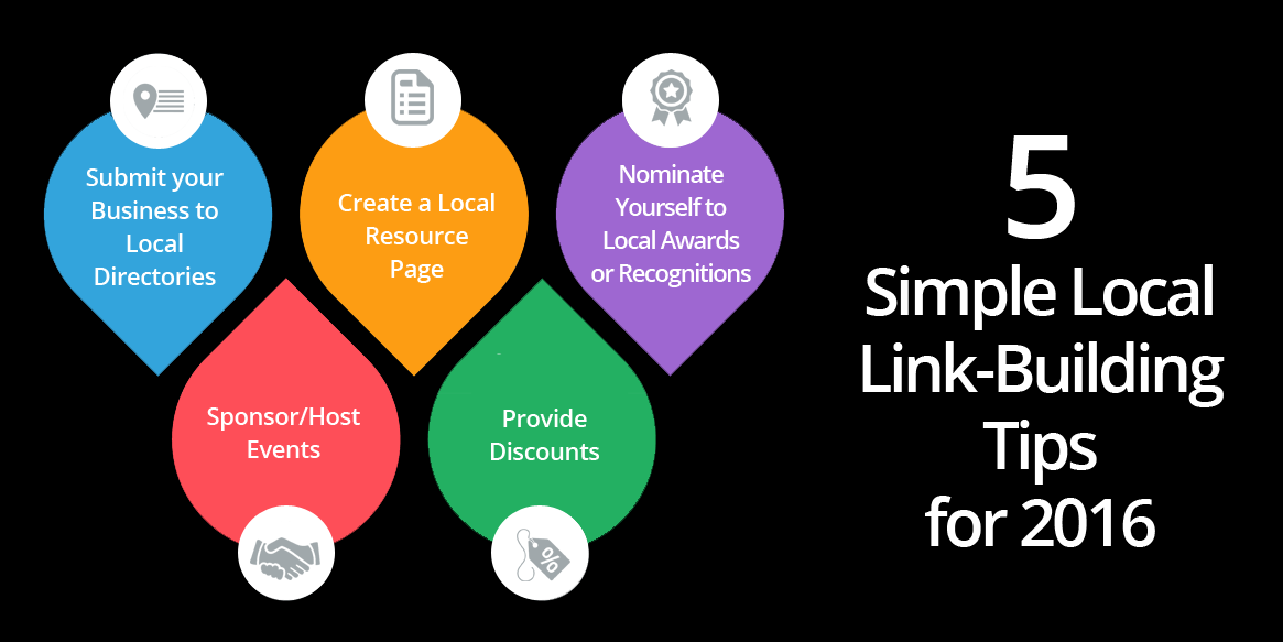 Local Link building tips for 2016