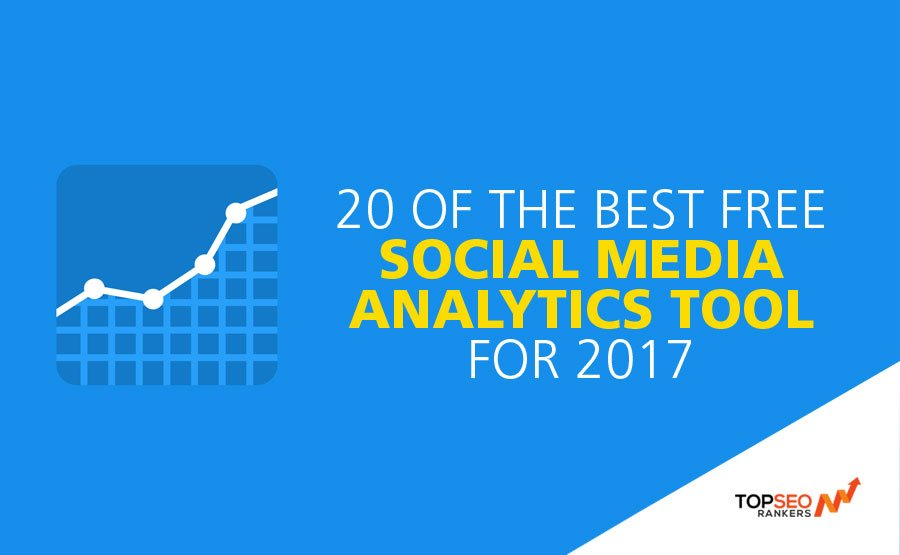 20 Free Social Meadia analytic tool - Top SEO Rankers